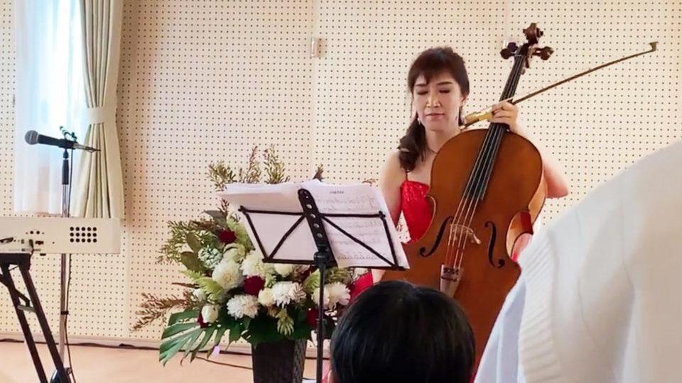 国際的人気女性チェリスト諸岡由美子氏