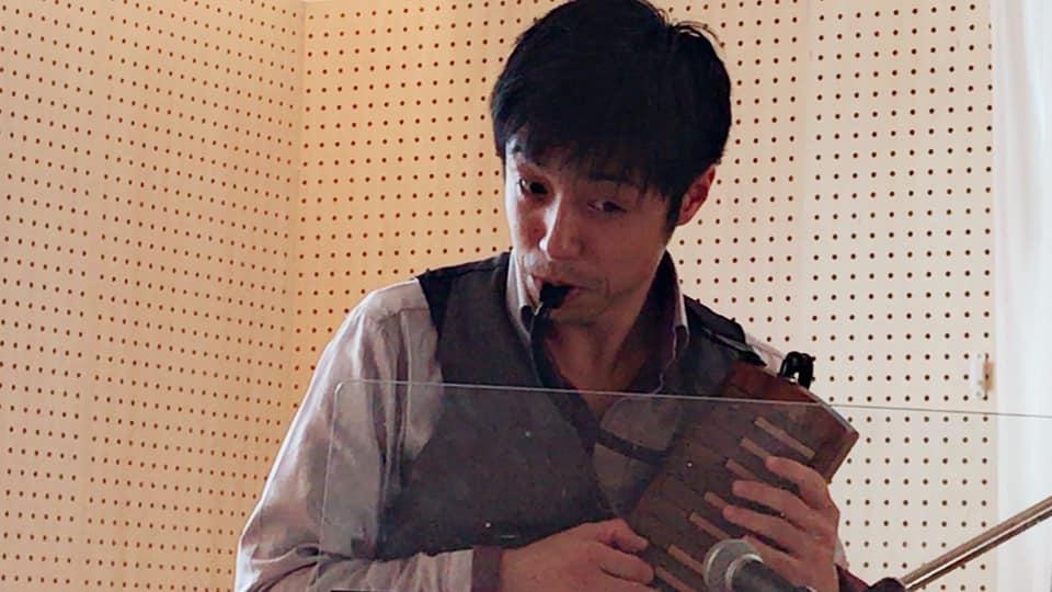鍵盤ハーモニカ奏者得田サトシ氏